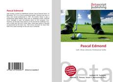 Couverture de Pascal Edmond