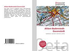 Bookcover of Ahlem-Badenstedt-Davenstedt