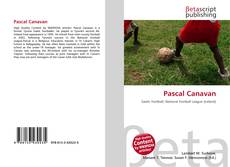 Buchcover von Pascal Canavan