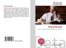 Buchcover von Pascal Bérubé