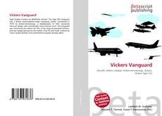 Portada del libro de Vickers Vanguard
