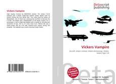 Portada del libro de Vickers Vampire