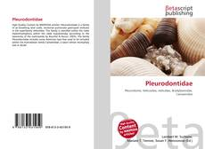 Обложка Pleurodontidae