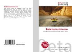 Buchcover von Badewannenrennen