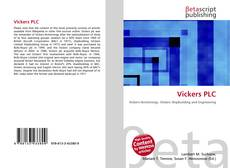 Bookcover of Vickers PLC