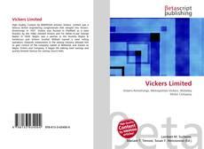 Vickers Limited kitap kapağı