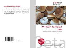 Bookcover of Mitchell's Rainforest Snail