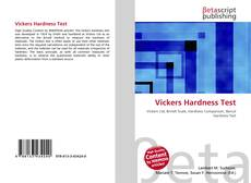 Bookcover of Vickers Hardness Test