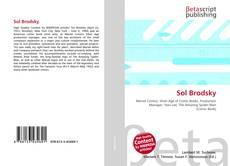 Portada del libro de Sol Brodsky