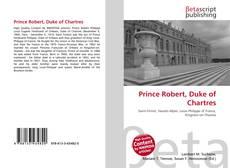 Copertina di Prince Robert, Duke of Chartres