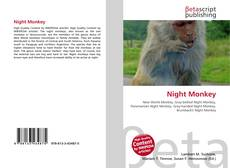 Copertina di Night Monkey