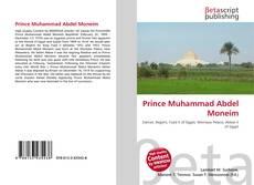 Prince Muhammad Abdel Moneim kitap kapağı