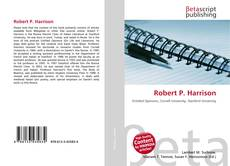 Bookcover of Robert P. Harrison
