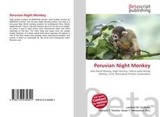 Bookcover of Peruvian Night Monkey