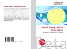 Bookcover of Ramah Navajo Indian Reservation