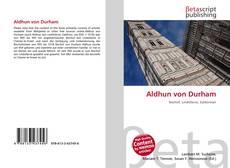 Buchcover von Aldhun von Durham