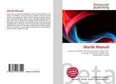 Bookcover of Warde Manuel