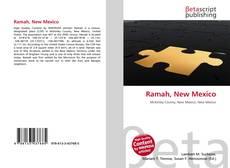 Ramah, New Mexico kitap kapağı