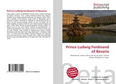 Bookcover of Prince Ludwig Ferdinand of Bavaria
