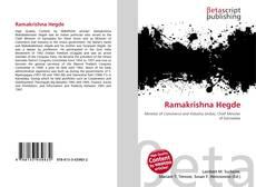 Borítókép a  Ramakrishna Hegde - hoz