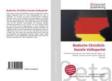 Bookcover of Badische Christlich-Soziale Volkspartei