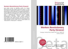 Bookcover of Workers Revolutionary Party (Greece)
