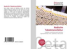 Обложка Badische Tabakmanufaktur