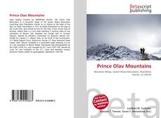 Bookcover of Prince Olav Mountains