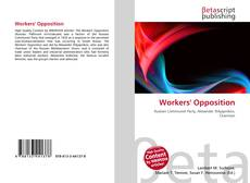Copertina di Workers' Opposition