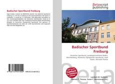 Buchcover von Badischer Sportbund Freiburg