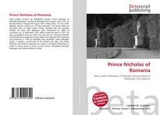 Capa do livro de Prince Nicholas of Romania