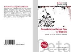 Bookcover of Ramakrishna Ranga Rao of Bobbili