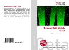 Обложка Ramakrishna Sarada Math