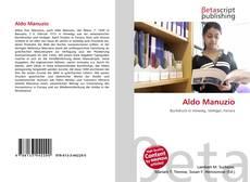 Bookcover of Aldo Manuzio