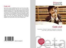Couverture de Code civil