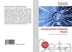 Stanford Web Credibility Project的封面