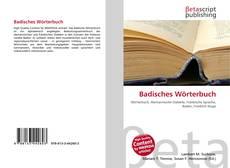 Borítókép a  Badisches Wörterbuch - hoz