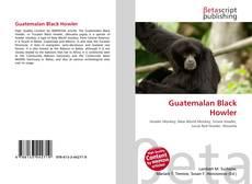 Обложка Guatemalan Black Howler