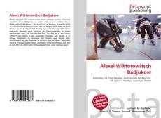 Bookcover of Alexei Wiktorowitsch Badjukow