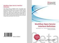 Borítókép a  Workflow Open Service Interface Definition - hoz
