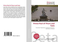 Обложка Prince Paul of Thurn and Taxis