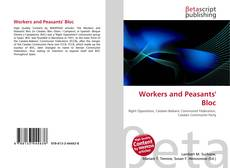 Bookcover of Workers and Peasants' Bloc