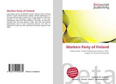 Bookcover of Workers Party of Finland