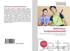 Bookcover of Badminton-Europameisterschaft