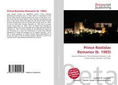Bookcover of Prince Rostislav Romanov (b. 1985)