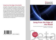 Capa do livro de Song From the Edge of the World