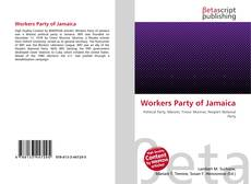 Bookcover of Workers Party of Jamaica