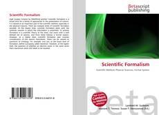 Bookcover of Scientific Formalism