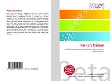 Borítókép a  Raman Osman - hoz