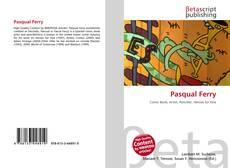 Capa do livro de Pasqual Ferry
